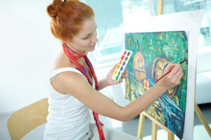abstract painting artist | virtualvoyage.edu.in