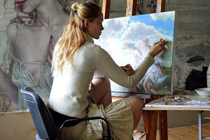 oil painting artist | virtualvoyage.edu.in